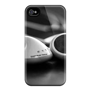 GgUMYyE3394LEinq Case Cover Protector For Iphone 4/4s Music Case
