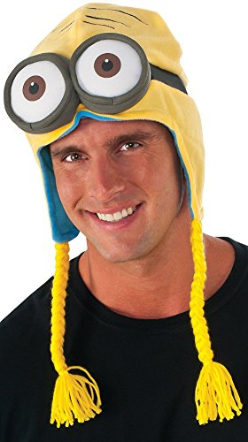 Rubie's Costume Co Men's Minion Laplander Hat, Multi, One Size
