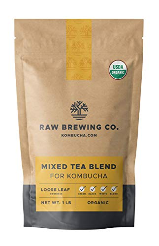 Top 10 best organic black tea bags for kombucha