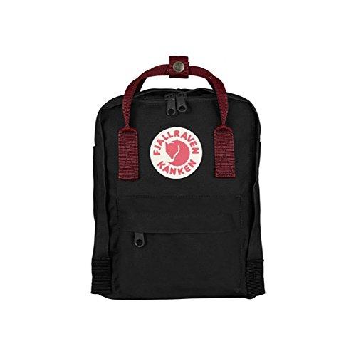 (フェールラーベン) FJALL RAVEN カンケン バッグ 7L カンケン ミニ リュック kanken mini bag バックパック リュック レディース ナップサック 通学 子供用 キッズ ナップサック 7L [並行輸入品] B00ZI0MC12 BLACK/OX.RED BLACK/OX.RED