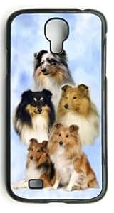 Shetland Sheepdog/Sheltie Dog Hard Case Clip on Back Cover for Samsung S4 9500