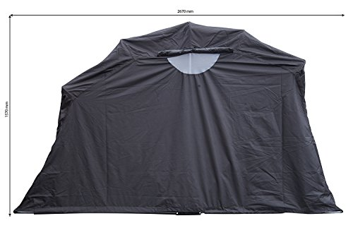 Auto-Companion-Motorbike-Bike-Shelter-Motorbike-Cover-Outdoor-Shed-Garage-Moped-Motorcycle-Storage
