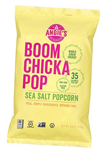 Angie's - Boom Chicka Pop Sea Salt 6 x 0.6 oz. Bags