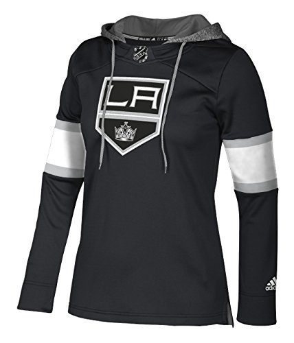 NHL Los Angeles Kings Authentic Crewdie Jersey, Black, Large