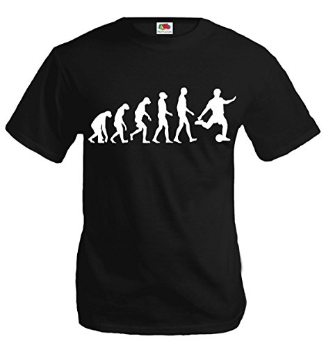 buXsbaum T-Shirt The Evolution of soccer