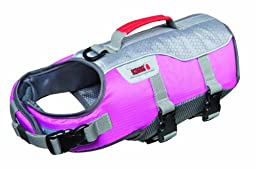 Future Sports Products International KONG SPORT Aqua Float Flotation Vest for Dogs,Small, Pink