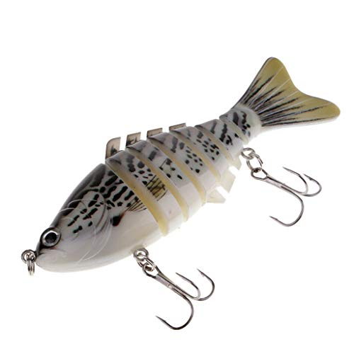 Ameglia 7 Segment Swimbait Sinking Lures Crankbaits Hard Baits Bionic Fishing Lures (Color - ()
