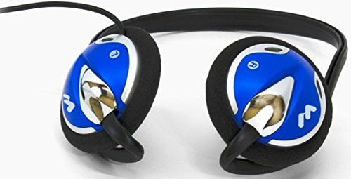 Williams Sound HED 026 Deluxe Mono Rear-Wear Headphones, Adult size, Mild to Moderate Hearing Loss Rating, 100 mW Max Power Input, Sensitivity 108 dB @ 1kHz, 30 mm Driver Size