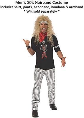 80s - Disfraz de años 80 para hombre, talla M: Amazon.es: Juguetes ...