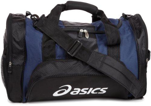 ASICS Huddle Medium Duffle Bag, Navy/Black