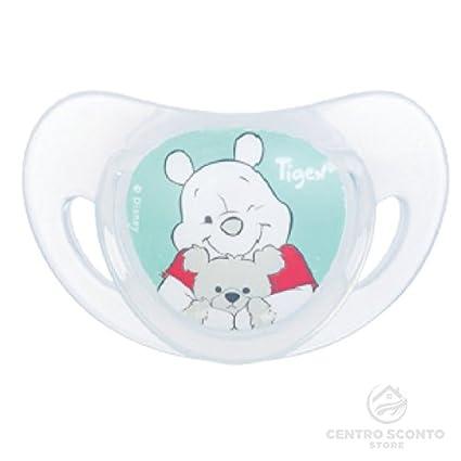 Tigex Disney Winnie The Pooh chupetes de silicona 6 - 18 meses 2 ...