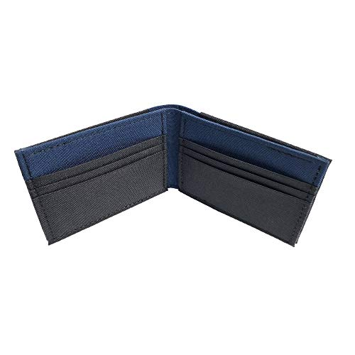 Men's Vegan Polyester & Nylon Bifold Wallet Made in USA by Hold Supply Co.