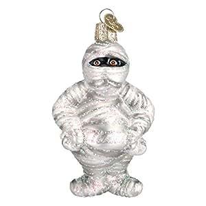 Old World Christmas Mummy Glass Blown Ornament