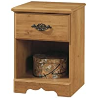 South Shore Furniture, Prairie Collection, Night Table with open case, Country Pine
