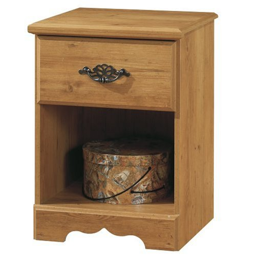 South Shore Furniture, Prairie Collection, Night Table with open case, Country (Pine Table)