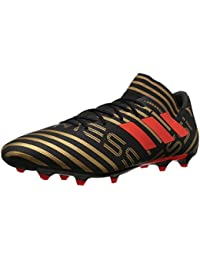 Men's Nemeziz Messi 17.3 FG Soccer Shoe, Core Black/Solar...
