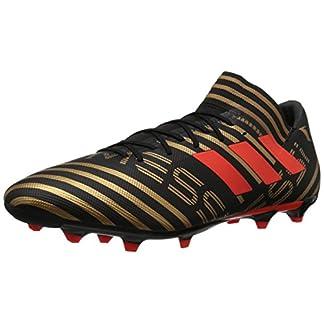 adidas  Men's Nemeziz Messi 17.3 FG Soccer Shoe, Core Black/Solar Red/Tactile Gold, 7 M US