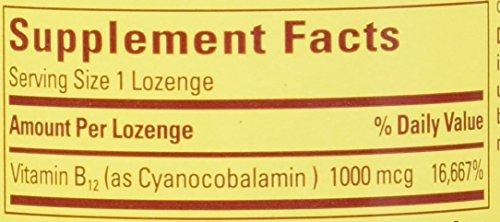 Nature Made Vitamin B 12 1000 MCG Sublingual, 50 Count