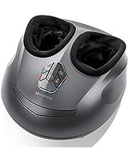 MARNUR Massaggiatore Piedi Shiatsu Pedana Massaggio Plantare Elettrico con Calore Rolling e Compressione d'aria per Casa Ufficio(Calore / Compressione dell'aria /Shiatsu possono essere usati da soli)
