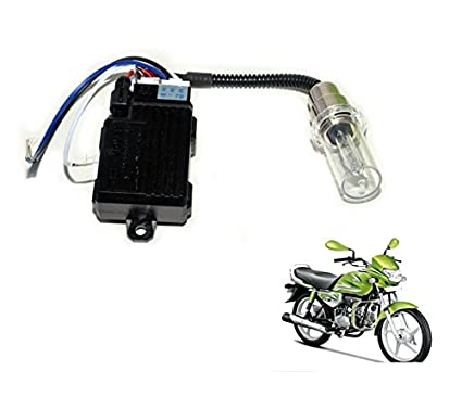 Auto Hub Bike HID LED Headlight Bulb for Hero HF Deluxe Eco