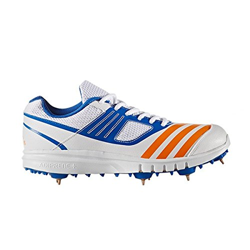 Adidas Howzat Zapatilla Running De Clavos Junior Zapatilla De Cricket - SS17 Blanco