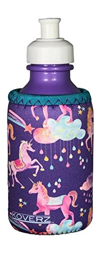 Koverz for Kids - #1 Neoprene Baby Bottle/Sippy Cup Insulator Cooler Coolie - Choose from 30+ Styles! - Unicorns