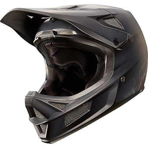Fox Racing Rampage Pro Carbon MIPS Casco, Negro Mate, Mediano