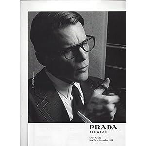 --PRINT AD-- With Ethan Hawke For 2015 Prada Eyewear --PRINT AD--
