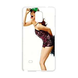Samsung Galaxy Note 4 Cell Phone Case White Smiling Emma Stone Ghwjd