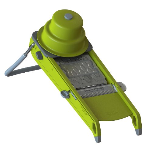 De Buyer Swing Mandoline - Swing 2.0 Mandoline and Grater Color: Aniseed Green