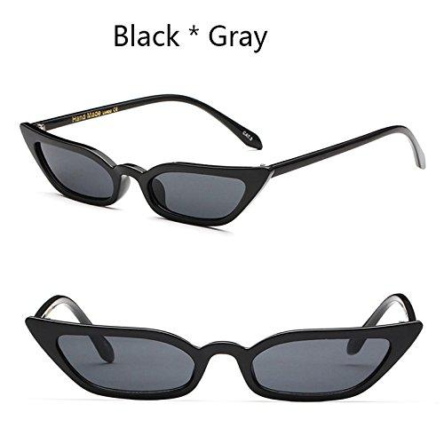 Tonalidades Gato C1 C6 Lujo Ojo Sexy Sol De De Gafas De Uv400 Mujer Gafas Pequeñas De Vintage Gafas De TIANLIANG04 La HTSYqx