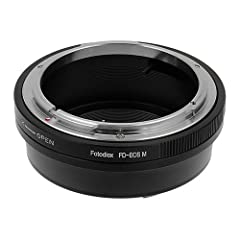 If you have a SLR or DSLR camera and other maker/mount lenses, the Fotodiox Mount Adapters allow you to use your lenses on the film/digital camera body. Sharing lenses has some distinct advantages. Certain prime lens just can't be replaced, a...