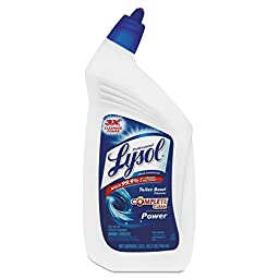 Professional LYSOL Brand 74278CT Disinfectant Toilet Bowl Cleaner, 32oz Bottle (Case of 12)