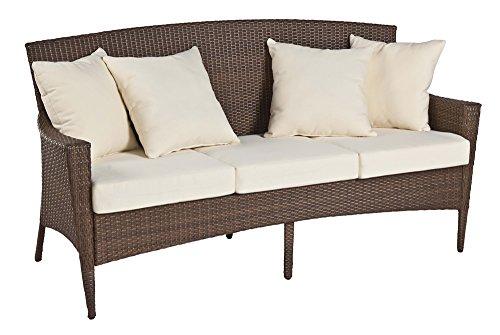 Panama Jack Key Biscayne Woven Sofa with (Key Biscayne Sofa)