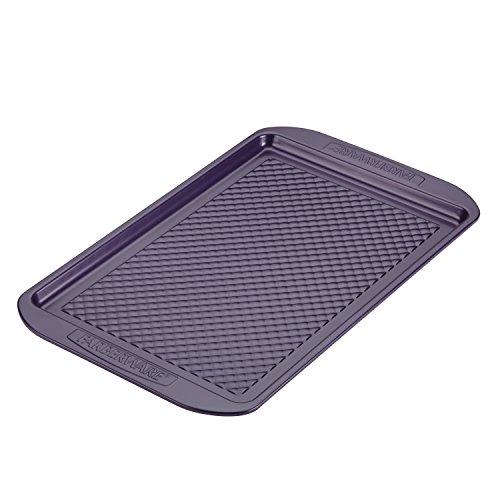 Farberware Colorvive Nonstick Cookie Pan, 11-Inch x 17-Inch, Purple