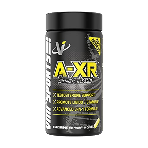 VMI Sports   A-XR PCT   Maximum Hormone Support and Testosterone Supplement for Men   High Quality + Full Spectrum…