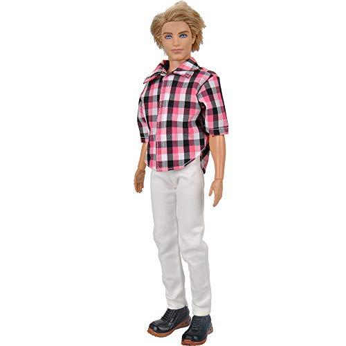 Stillshine a Barbie Chaussures 4 Le Ami Pour Accessoires Tenue Doll Vêtements Shoes Ken Shirt 2 Short Décontractée De Petit f7zc4rqfU