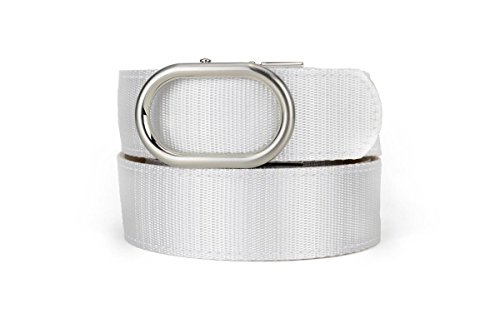 Nexbelt Newport Snow Nylon Sport Belt Golf Adjustable Ratcheting (Newport Belt)