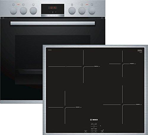 Bosch HND415LS60 Acero Fino Einbau-Herdset bestehend aus ...