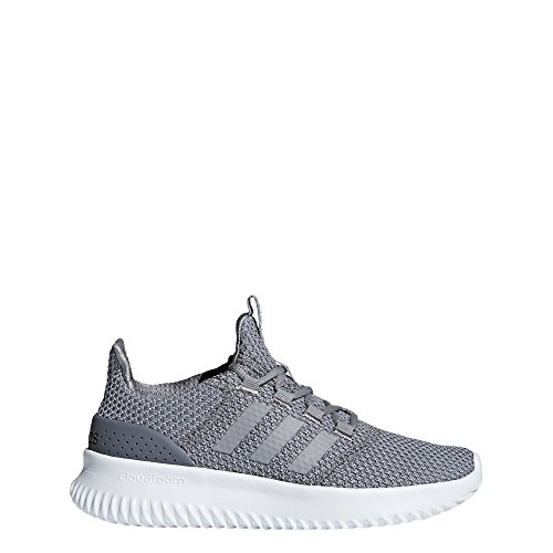 adidas Kids' Cloudfoam Ultimate Running Shoe, Light Granite/Grey/Onix, 3 M US Little Kid by adidas (Image #1)