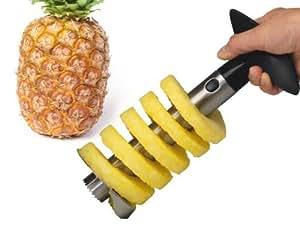 1 X Stainless Steel Pineapple Corer Slicer Peeler Cutter