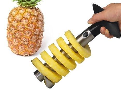 Amazon.com: 1 x acero inoxidable Piña corer cortadora Peeler ...
