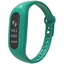 Vnown Fitness Tracker, Slim HR Plus Heart Rate Smart Bracelet Pedometer Wearable Waterproof Activity Tracker Watch