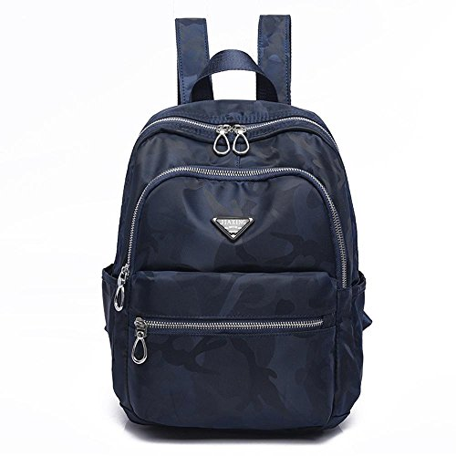Double Women Travel Bag Bag Girl Shoulder Backpack Aoligei Camouflage Leisure Nylon Oxford D w0qfx