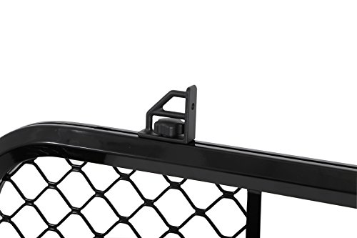 Dee-Zee-DZ95072RB-Gloss-Black-Aluminum-Mesh-Cab-Rack