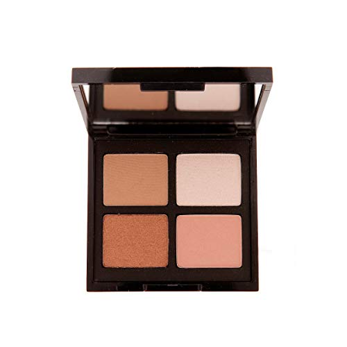 Mally Beauty Open Up! Eyeshadow Quad, Everyday Nudes, 0.32 oz. ()
