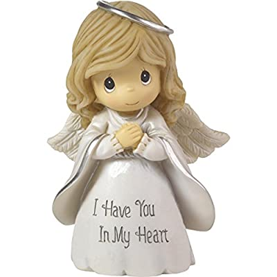 Precious Moments I Have You in My Heart Angel Resin Home Decor Collectible Figurine 173018