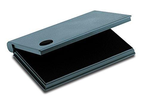 2000Plus Stamp Pad, Felt, Size 2, Black Ink (090407) by 2000 (Cosco Felt Stamp Pad)