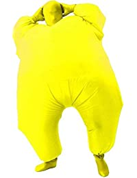 Inflatable Fat chub Body Skin Suit Fancy Blow-Up Costume Adult Jumpsuit Cosplay