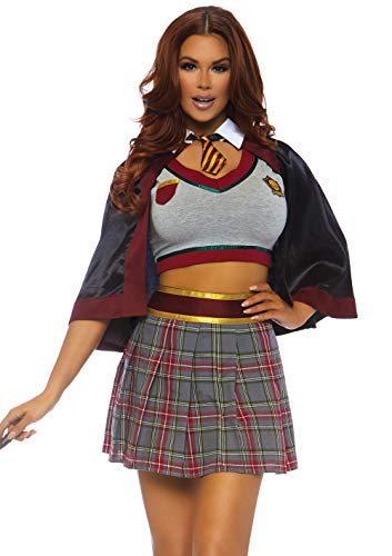 Leg Avenue Womens Spellbinding Magic School Girl Halloween